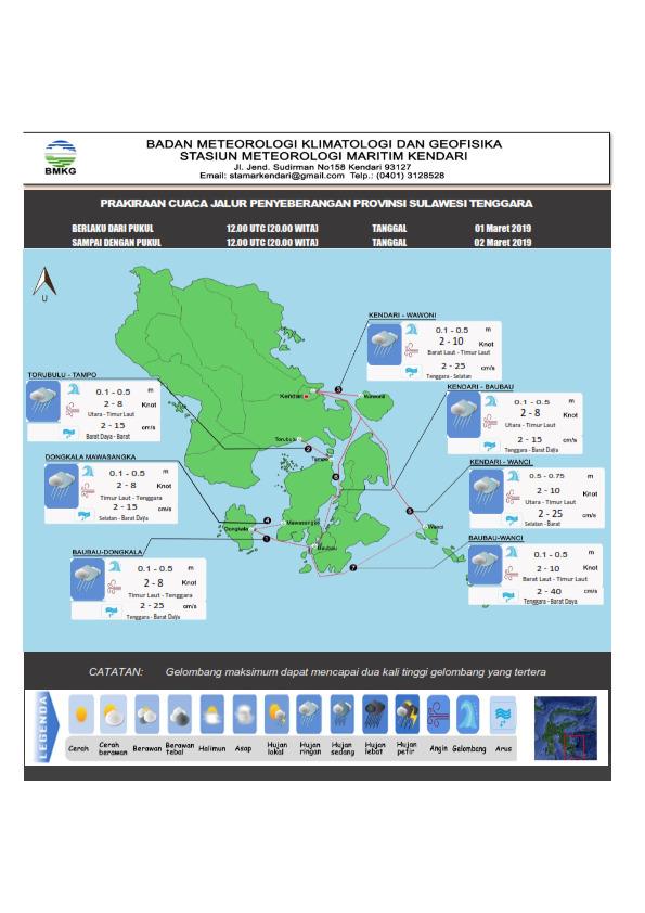 Jokowi Gelar Kegiatan di Kendari, Begini Prakiraan Cuaca