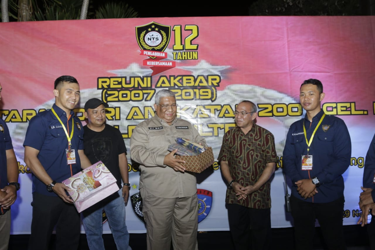 Bertemu NTS Polda Sultra, Gubernur Dukung Polisi Sukseskan Program Kapolri